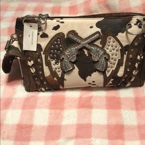 Conceal and carry western purse